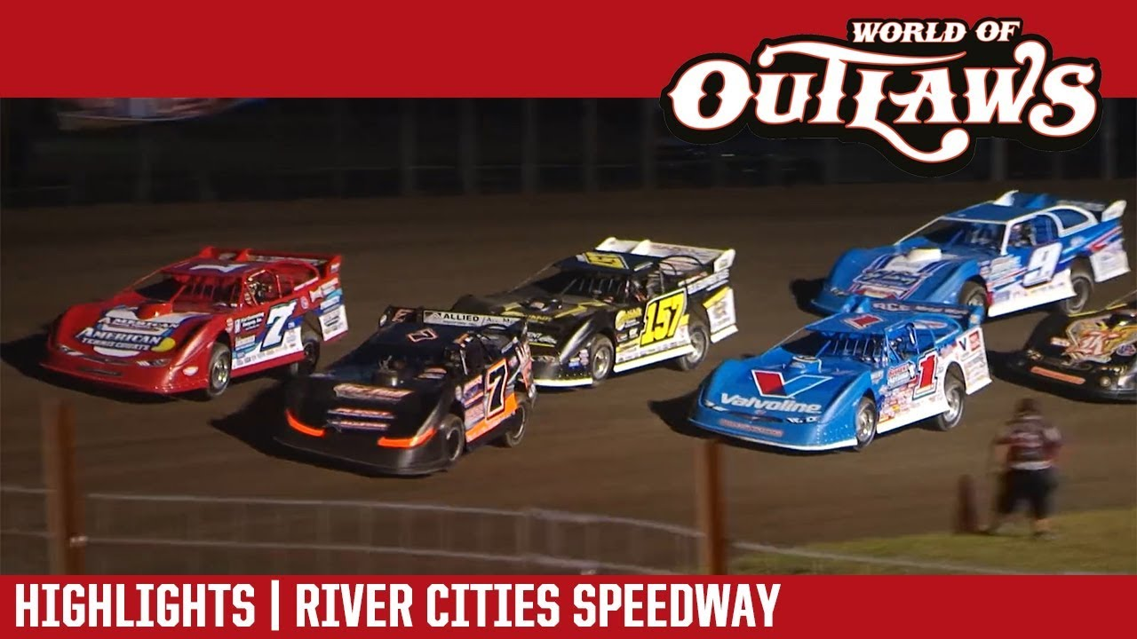 world-of-outlaws-craftsman-late-models-river-cities-speedway-july-13-2018-highlights