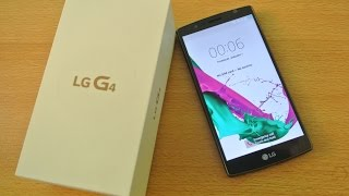 LG G4 - LG G4 - Unboxing, Setup & First Look HD