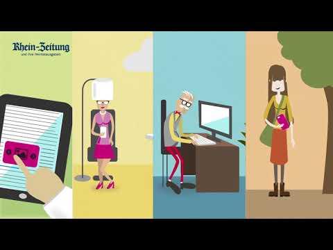 Erklärvideo: So Lesen Sie Die Rhein-Zeitung Digital
