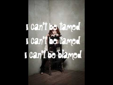 miley cyrus can't be tamed lyrics