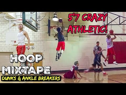 5'7 ASIAN Nelson Chan CRAZY ATHLETIC! - OFFICIAL Basketball Hoop Mixtape!