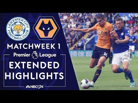 Leicester City v. Wolves | PREMIER LEAGUE HIGHLIGHTS | 8/11/19 | NBC Sports
