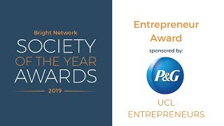 UCL Entrepreneurs - Bright Network Entrepreneur Award