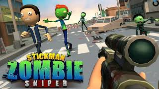 Stickman Sniper : Scary Zombies Android Gameplay HD