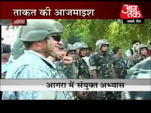 India-US air force exercise begins in Agra