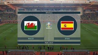 PES 19 UEFA Euro 2020 Wales vs Spain