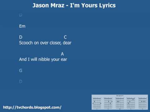 I\'m Yours by Jason Mraz (on Guitar) - YouTube