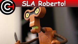 SLA Roberto Figure! [Futurama] - 3D Printing