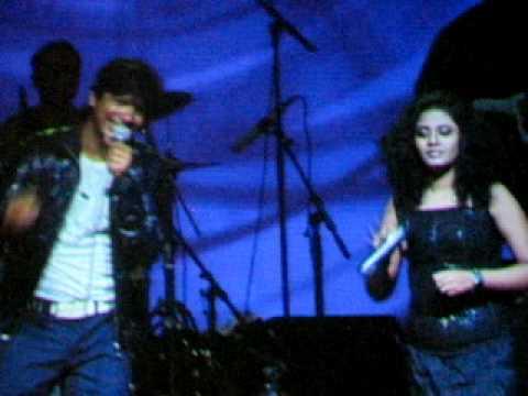 Anwesha and Shaan at NABC'09 Hey Shona