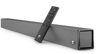 TaoTronics Sound Bar Wired and Wireless Bluetooth