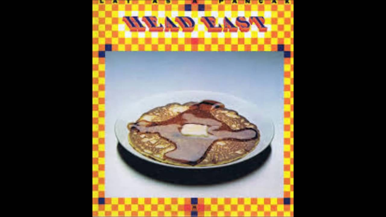 head east - flat as a pancake