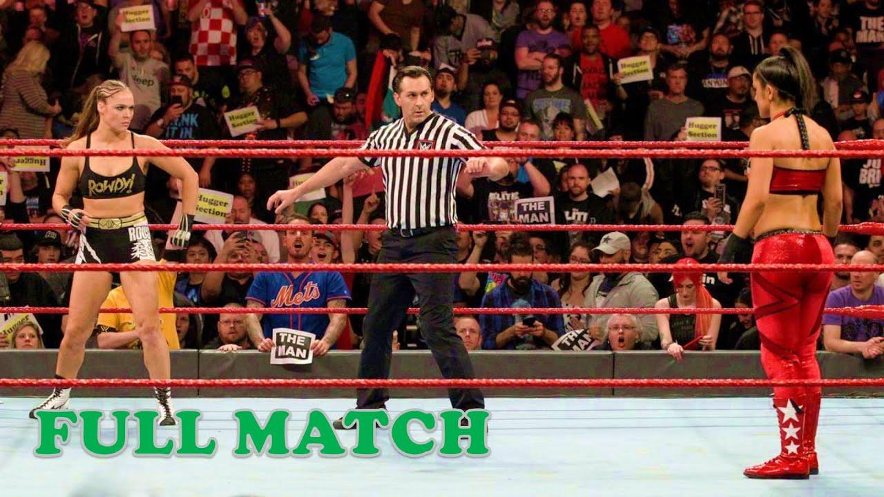 Ronda Rousey vs Bayley Full Match