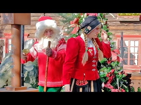 Download Youtube: Sigrid Meets Julenissen the Christmas Gnome in Norway's Pavilion at Epcot, Walt Disney World