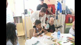 Bisbal se une a la lucha contra el cáncer infantil
