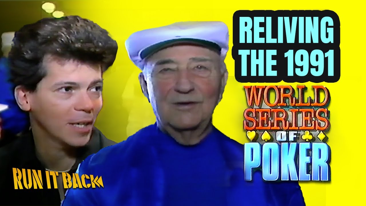 Run it Back with Remko   1991 WSOP Main Event