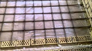 видео Армирование монолитной плиты перекрытия своими руками