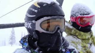 Ski in Russian Siberia. Sheregesh. December 2009. (Шерегеш в декабре 2009)