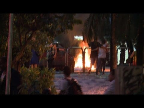 World Cup protests spark violence in Brazil