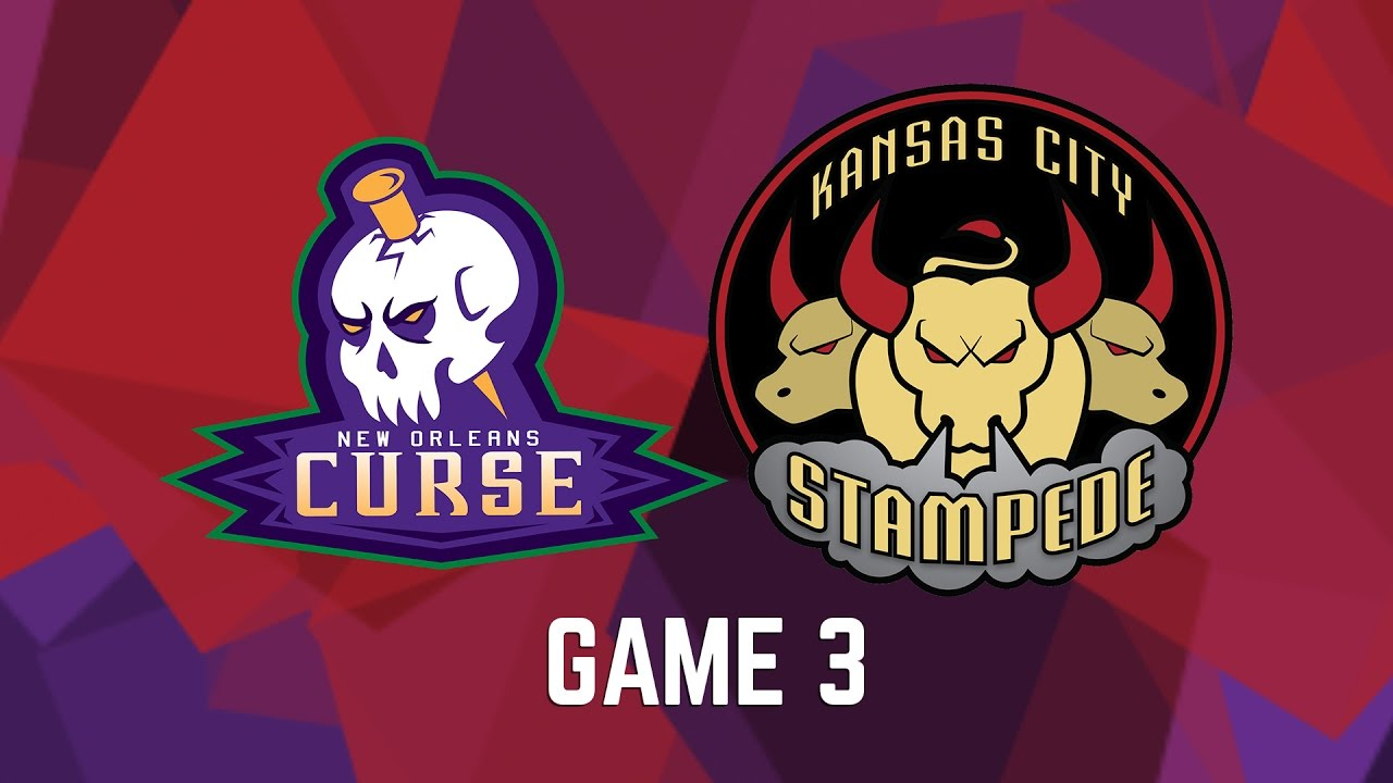New Orleans Curse Vs Kansas City Stampede Game 3 Youtube