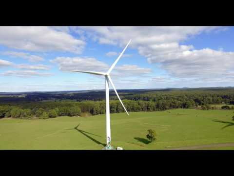Hepburn Wind Turbines, Victoria by Drone Addiction