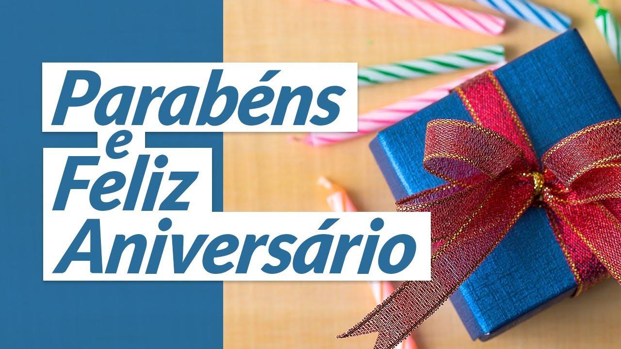Feliz Aniversário Youtube: Mensagem De Parabéns 🎂 (e Feliz Aniversário! 🎁)