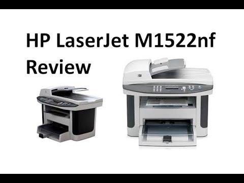 HP LaserJet M1522nf Review