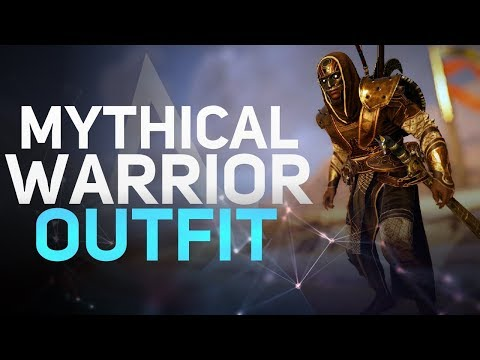 Assassin's Creed Origins - Mythical Warrior Outfit Showcase (New Game + Reward) |