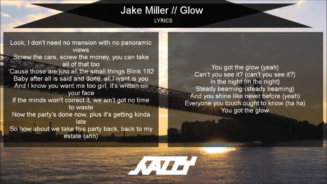 jake miller song lyrics - photo #33