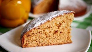 Пирог на кефире с вареньем. Очень простая и вкусная выпечка