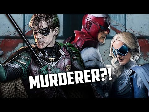 Robin is a Murdering Psychopath!? Hawk and Dove are Awesome! Titans Episode 2 Review!