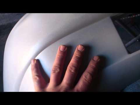 Подготовка бампера от Ваз 2110 к покраске