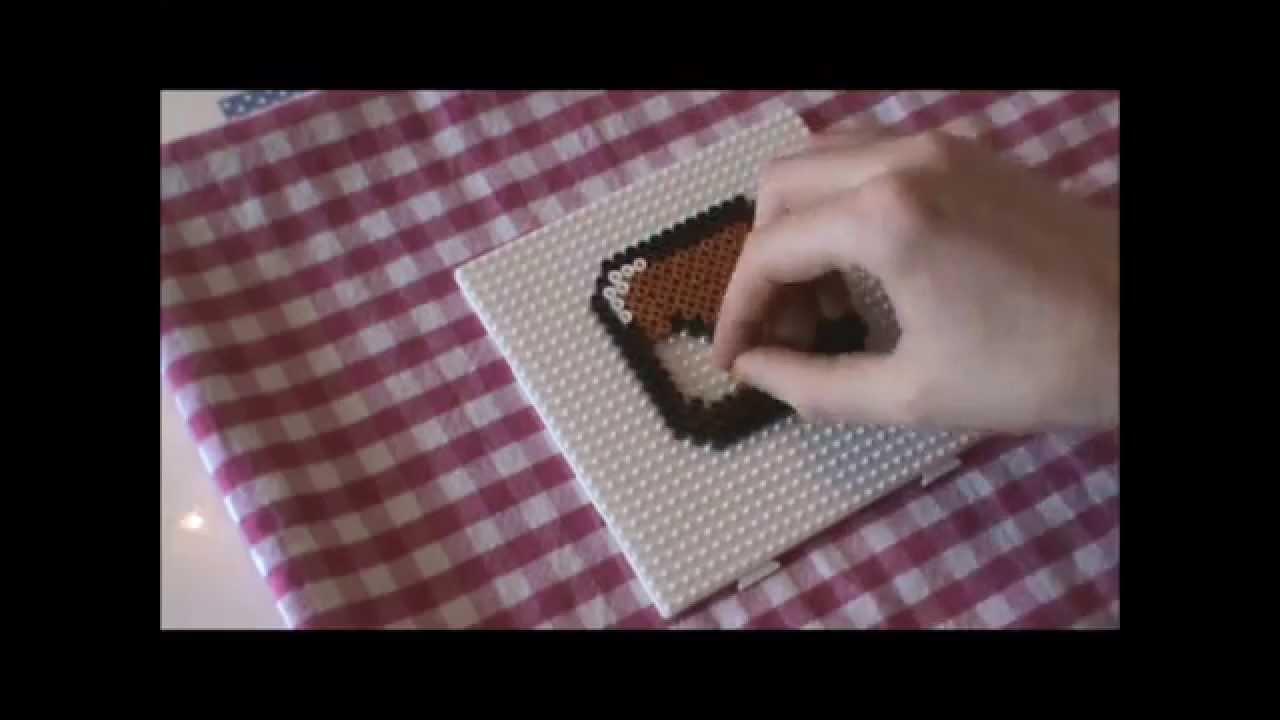Bügelperlen Vorlage #10 leere Box Perler Beads Tutorial - YouTube