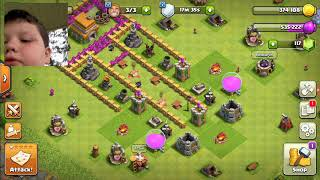 Clash of clans troll base the results