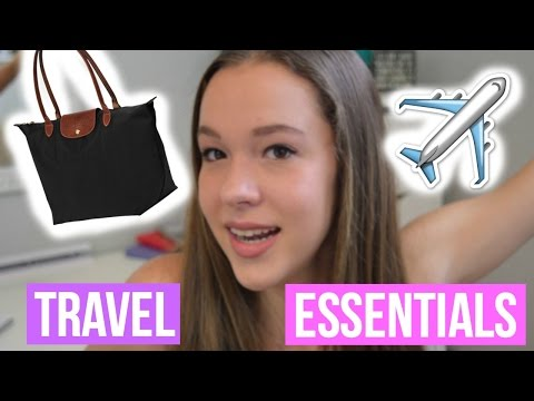 WHATS IN MY CARRY-ON/TRAVEL ESSENTIALS