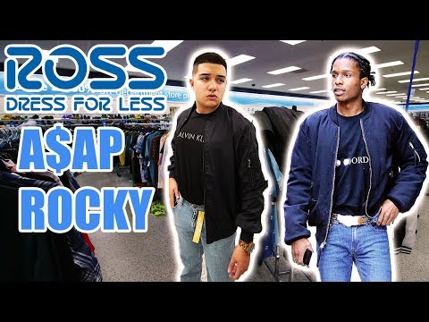 DRESS LIKE ASAP ROCKY CHALLENGE AT ROSS!!