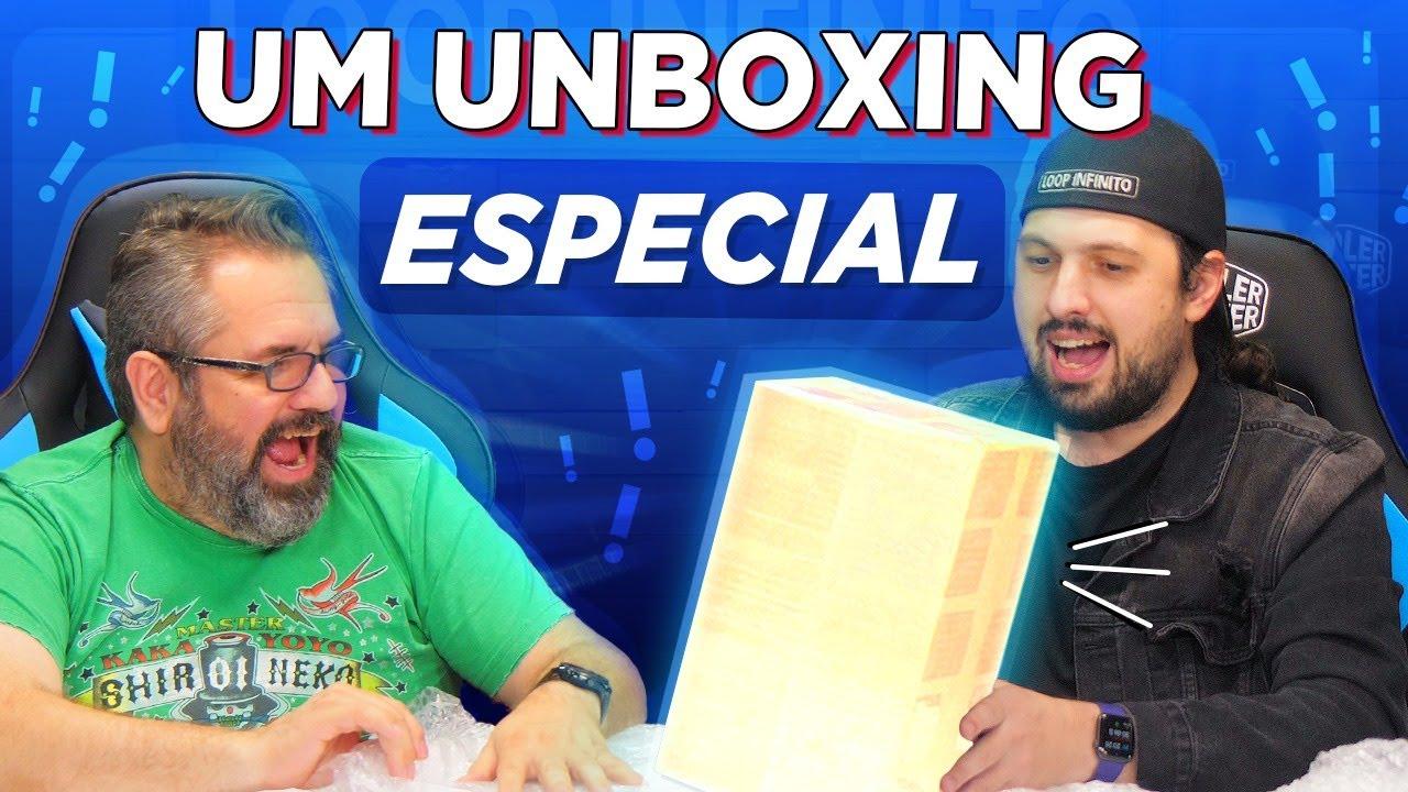 Download UM UNBOXING MUITO ESPECIAL!