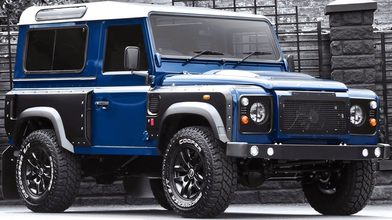 2013 land rover defender by kahn design youtube - A Kahn Design Land Rover Defender 2 2 Tdci 90 Xsi 2013 Aro 16