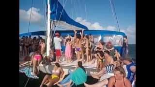 VARADERO 2014 - s/y ARGO 80' catamaran sail trip by AP