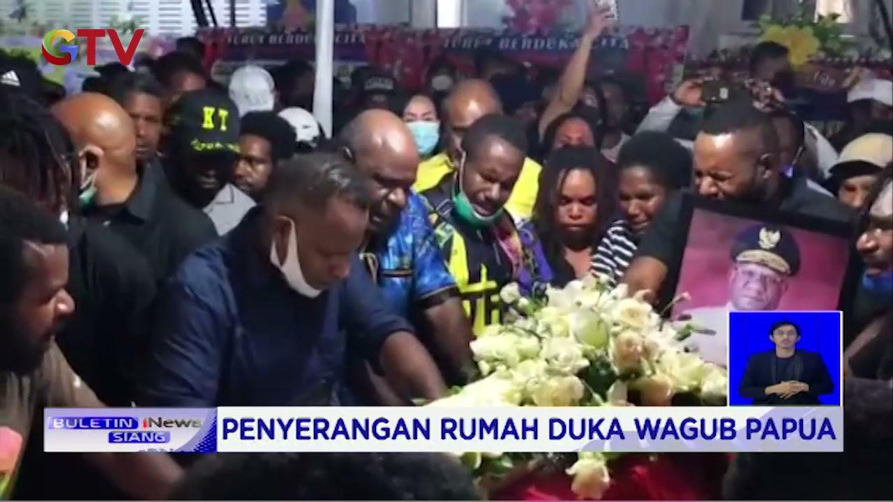 Sekelompok Warga Mengamuk dan Menyerang Rumah Duka Wagub Papua - BIS 23/05