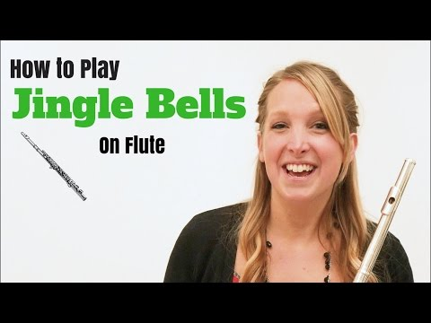 Jingle Bells - EASY Tutorial for Flute