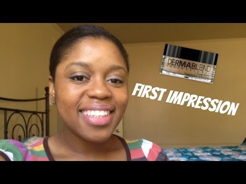 Dermablend Cover Creme First Impression & Look of the day
