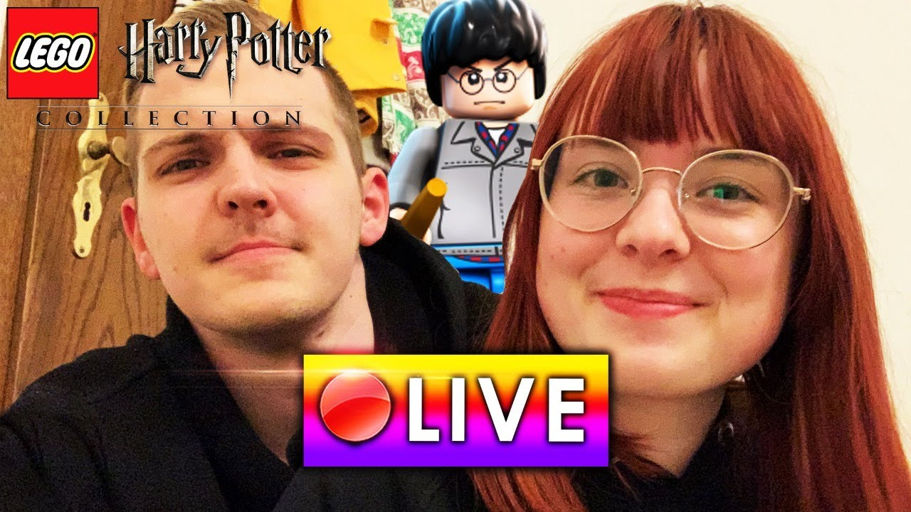 🔴 Huebi & Alina spielen (vielleicht) LEGO Harry Potter zu 100%