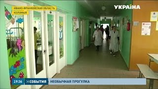 Необычный променад молодой матери на Прикарпатье закончился в больнице