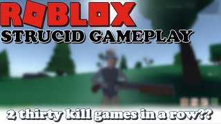 2 THIRTY KILL GAMES IN A ROW! (ROBLOX Strucid)