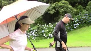 マーク金井と森下千里の「よそでは言えないゴルフの極意」 森下千里 検索動画 30