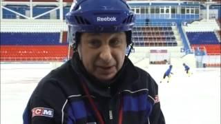 """""""Классная работа"""", хоккей с мячом. GuberniaTV"""