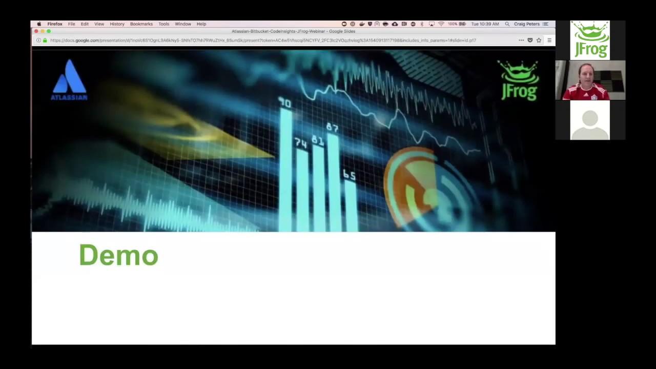 JFrog & Atlassian Webinar - 10/30/18