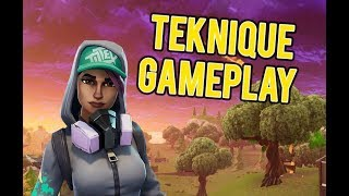 Fortnite Battle Royale NEW Teknique Skin Gameplay!