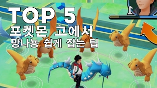 [티비플] 포켓몬 고에서 망나뇽 쉽게 잡는 팁 TOP 5 (한국출시)