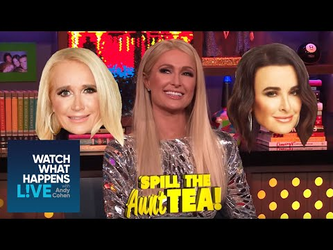 Erika Jayne & Paris Hilton on Lisa Vanderpump's Lie Detector Test  WWHL